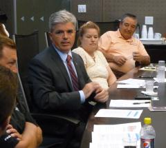 Steve Bellone Discusses His Plan to Create Jobs with Suffolk County Business Leaders