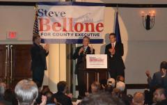 Cuomo Stumps for Bellone in Huntington