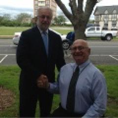 Congressman Bishop with John Behan