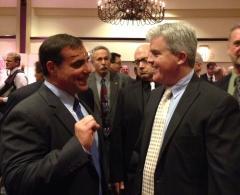 Chairman Pallotta with SC Exec. Steve Bellone