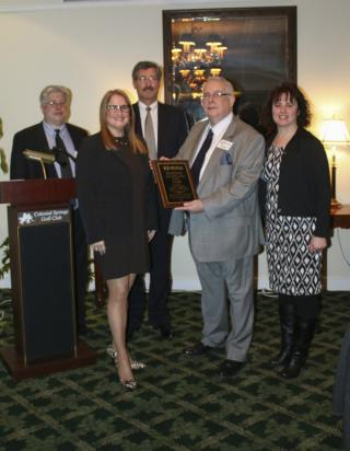 """The Melville Chamber of Commerce named Councilwoman Susan A. Berland its """"Business Advocate of the Year."""" Photo Credit: Town of Huntington."""