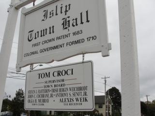 Islp Town Hall-Tom Croci Supervisor