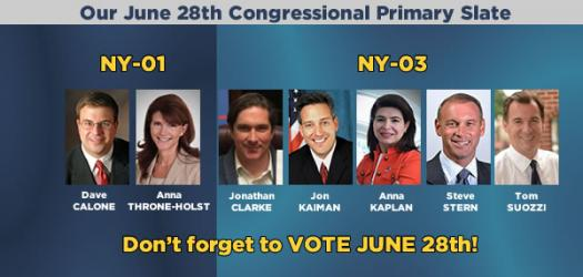 June 28th Primary slate