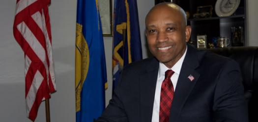Suffolk County Sheriff candidate Errol Toulon